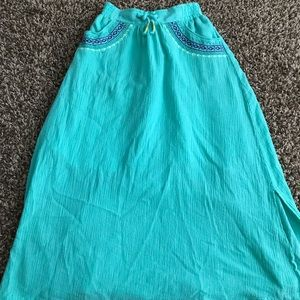 Girls Cherokee maxi skirt with pockets